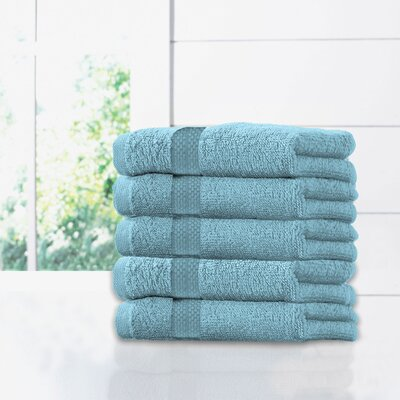Ruhlman Hand Towel Set Color: Aqua