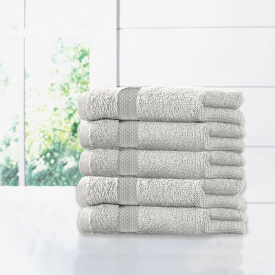 Ruhlman Hand Towel Set Color: White