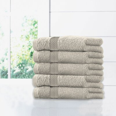 Ruhlman Hand Towel Set Color: Light Taupe