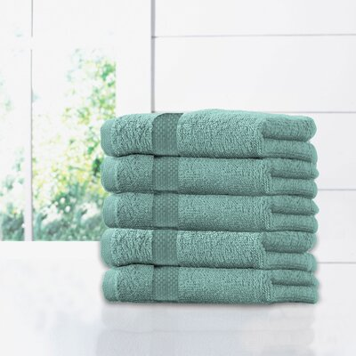 Ruhlman Hand Towel Set Color: Seafoam