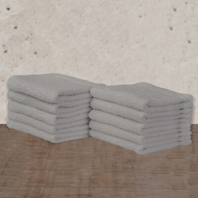 W Home Rayon from Bamboo Spa Washcloth Color: Gray