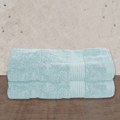 W Home Rayon from Bamboo Spa Bath Towel Color: Glacier Blue