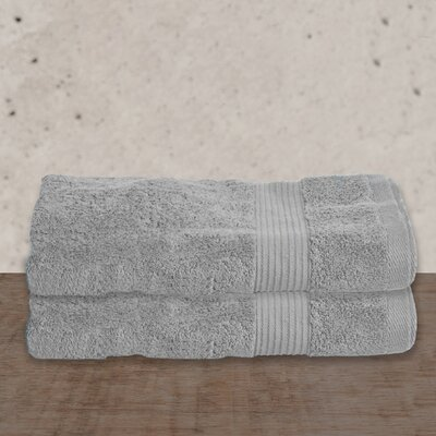 W Home Rayon from Bamboo Spa Bath Towel Color: Gray