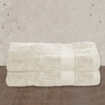 W Home Rayon from Bamboo Spa Bath Towel Color: Ivory