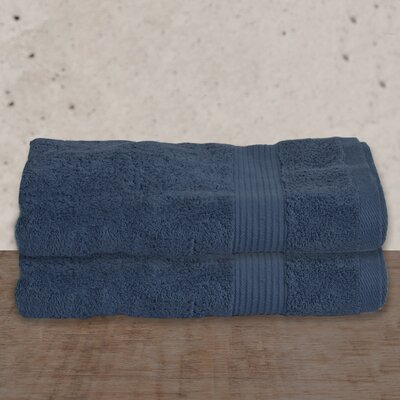 W Home Rayon from Bamboo Spa Bath Sheet Color: Denim