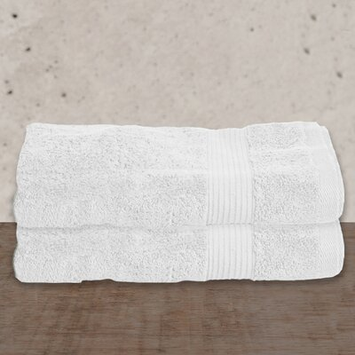 W Home Rayon from Bamboo Spa Bath Sheet Color: White