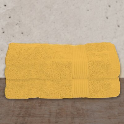 W Home Rayon from Bamboo Spa Bath Sheet Color: Buttercup