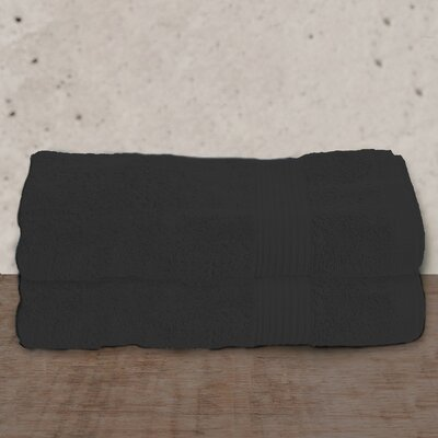 W Home Rayon from Bamboo Spa Bath Sheet Color: Black
