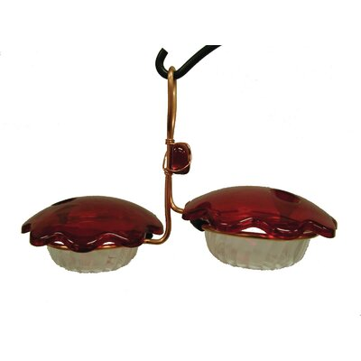 Double Cup Hummingbird Feeder CDC-RED
