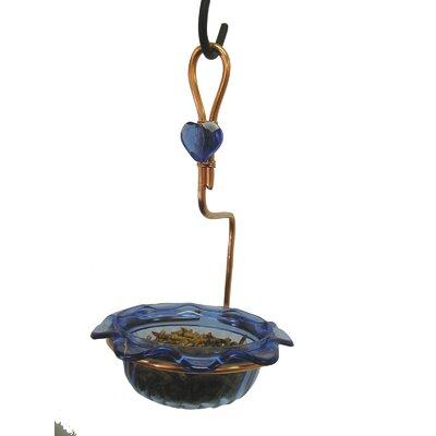 Single Cup Bluebird Decorative Bird Feeder CSC-BLUE