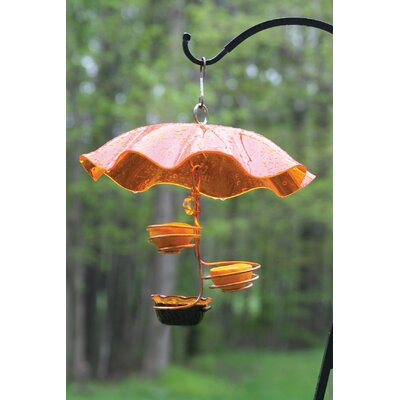 Single Cup/Double Fruit  Oriole Tray Bird Feeder CSCDF-ORANGE