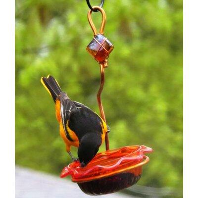 Single Cup Copper Oriole Bird Feeder CSC-ORANGE