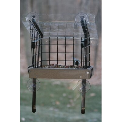 Recycled Small Window Suet Bird Feeder
