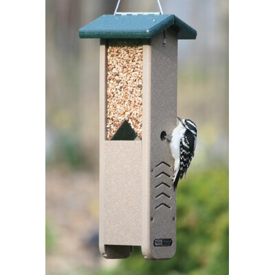Recycled Pecker Hopper Bird Feeder