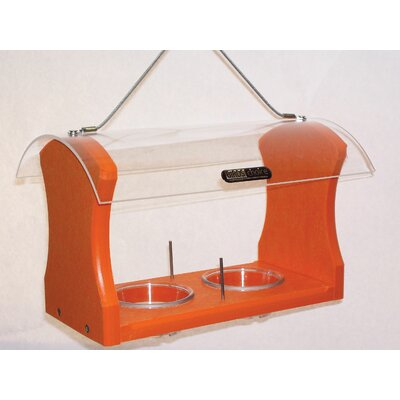 Recycled Jelly and Fruit Oriole Tray Bird Feeder