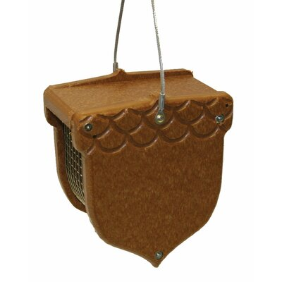 Recycled Peanut Decorative Suet Bird Feeder