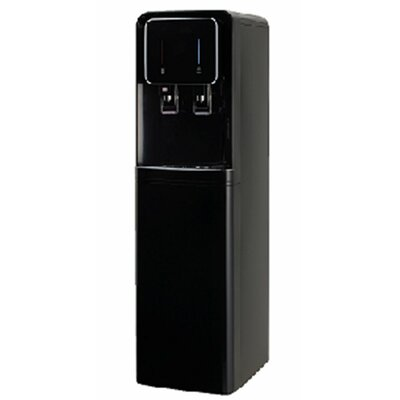 601 Series Bottleless Free-Standing Hot and Cold Water Cooler Color: Black Drinkpod 601 Series B