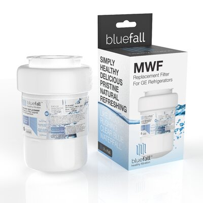 Bluefall GE MWF SmartWater Compatible Refrigerator Replacement Filter