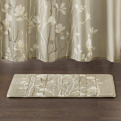 Kemper Reversible Memory Foam Bath Rug Size: 58 L x 24 W