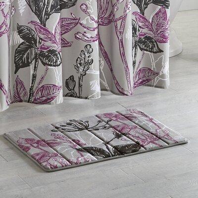 Reichel Reversible Memory Foam Bath Rug Size: 30 L x 20 W