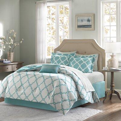 Winard Reversible Complete Comforter Set  Size: Twin XL, Color: Aqua