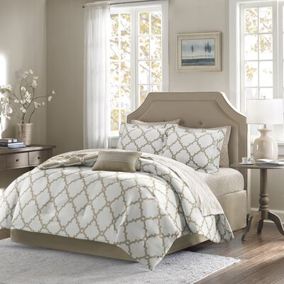 Winard Reversible Complete Comforter Set  Size: Twin XL, Color: Taupe