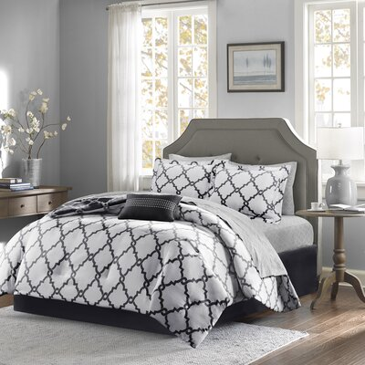 Winard Reversible Complete Comforter Set  Size: Twin XL, Color: Black