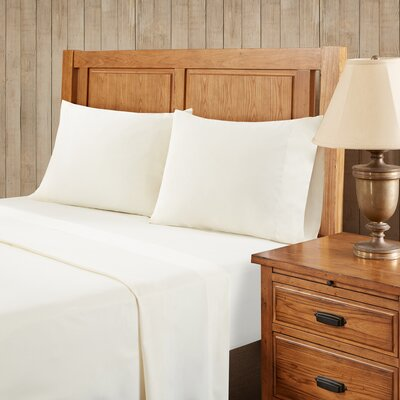 Franck Softspun Solid Sheet Set Size: Twin, Color: Ivory