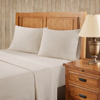 Franck Softspun Solid Sheet Set Size: Extra-Long Twin, Color: Tan