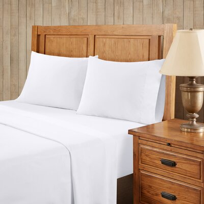 Franck Softspun Solid Sheet Set Size: Extra-Long Twin, Color: White