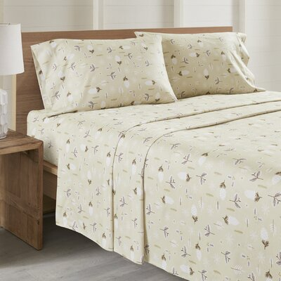 Daria Leaves All Seasons Sheet Set Size: Twin