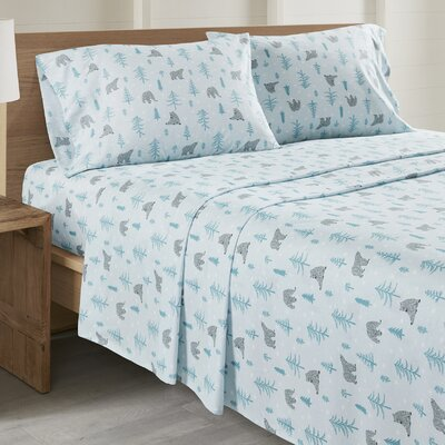 Daria Bear All Seasons Sheet Set Size: Twin XL