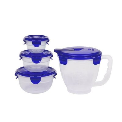 8-Piece Pinch and Measure Measuring Bowl Set HPR141305BLU