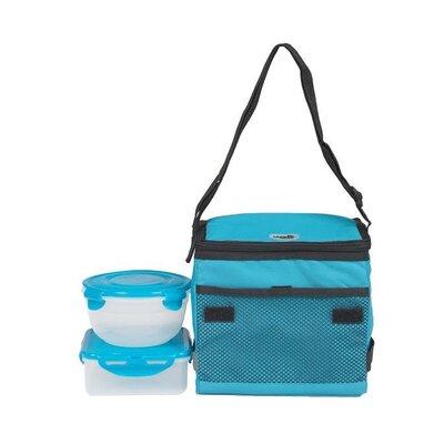5-Piece Lunch Set Color: Aqua HPR140745AQ