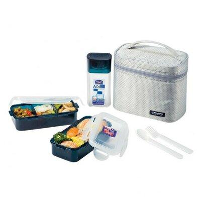 6 Container Food Storage Set HPL758DG