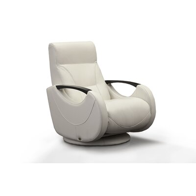 Pushback Recliner Color: White