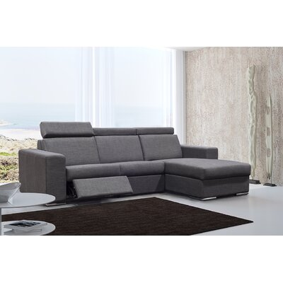 Elegance Reclining Sectional Orientation: Right Hand Facing