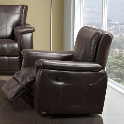 Lido Leather Manual Rocker Recliner