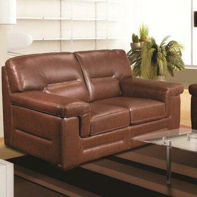 Astoria Leather Loveseat