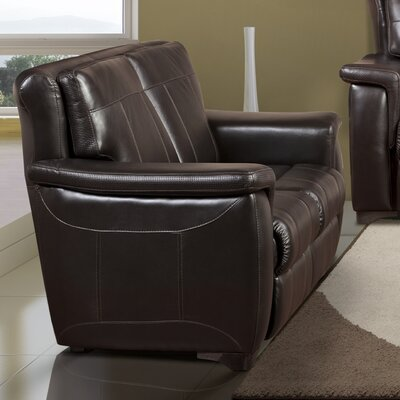 Lido Leather Loveseat