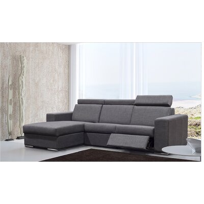 Elegance Reclining Sectional Orientation: Left Hand Facing