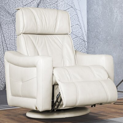 Vale Top Grain Leather Recliner