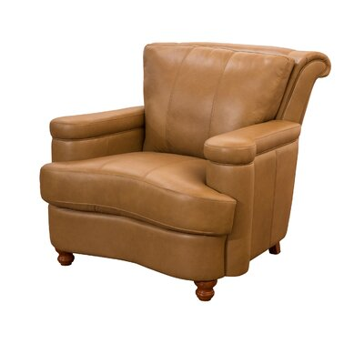 Heathridge Top Grain Leather Club Chair