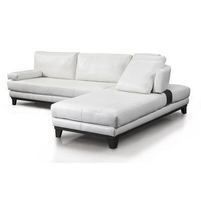 Newcastle Leather Sectional