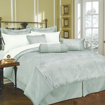 Monticello 11 Piece Bed-In-a-Bag Set Size: Queen