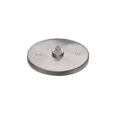MonoPoint Round Flush Canopy Finish: Satin Nickel