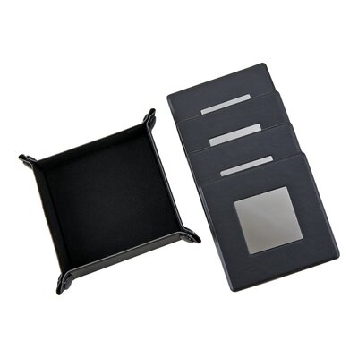 5 Piece Square Coaster Set 56569