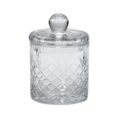 Medallion Ii Biscuit Barrel Glass Kitchen Canister