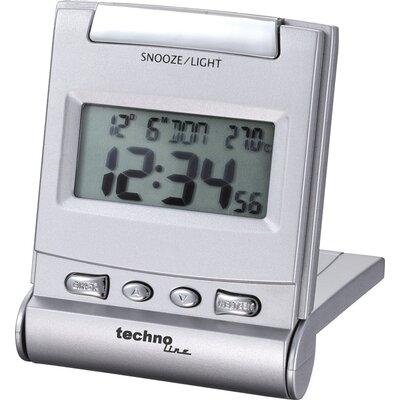 Schreibtischuhr | Dekoration > Uhren > Standuhren | Silber | Technoline