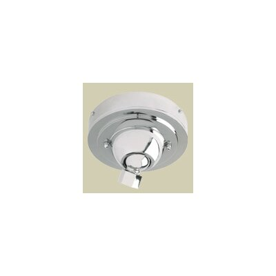 Sloped Ceiling Adapter Finish: Polished Nickel, Bulb Type: Compact Fluorescent